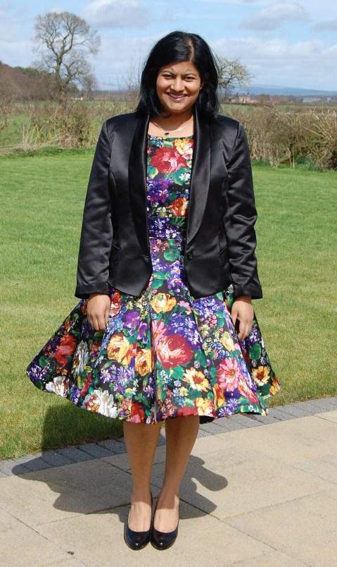 Vogue 8958: DIY Ladies Satin Tuxedo Jacket