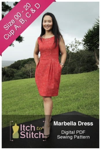 Marbella Dress Pattern by Itch to Stitch