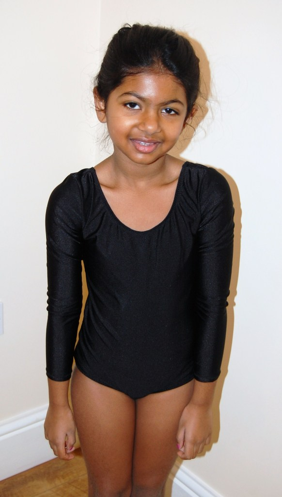 DIY gymnastics leotard