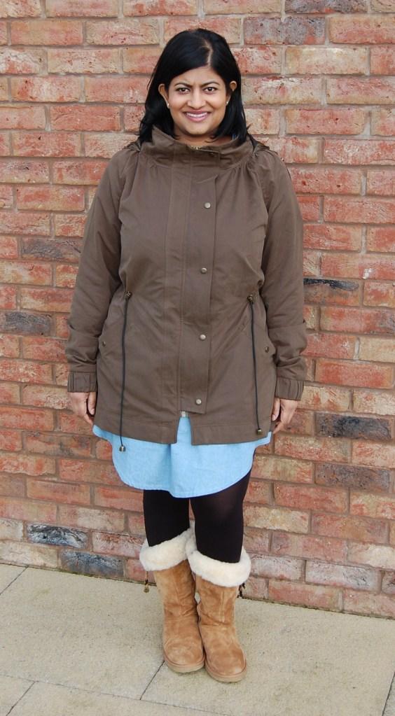 Khaki Waterproof Minoru Jacket