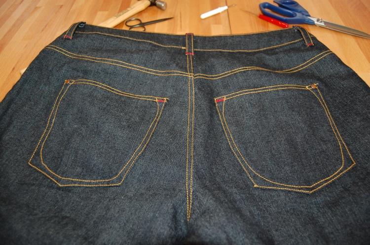 Closet Case Ginger Skinny Jeans Back Pocket Detail