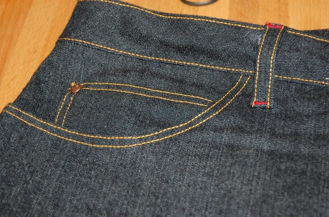 Closet Case Ginger Skinny Jeans Coin Pocket and Rivet Detail