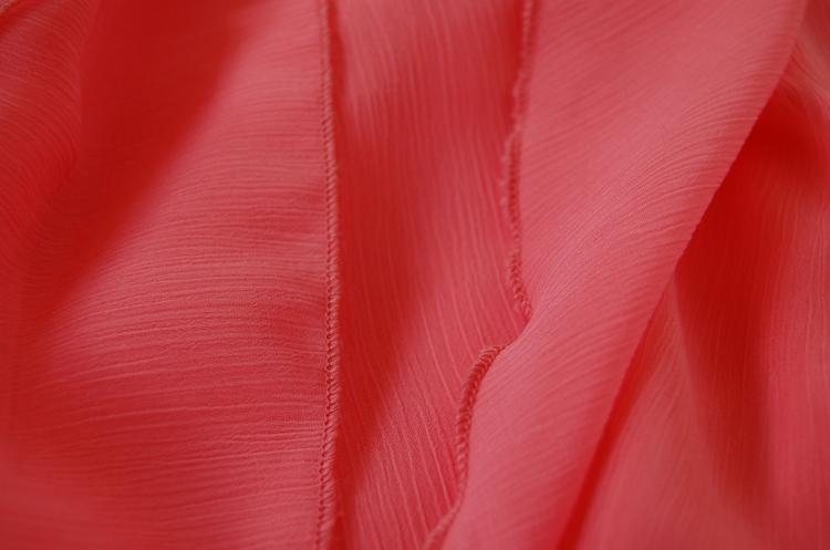 Vogue 8998 + McCalls 6987 DIY Ball Dress - rolled hem close up