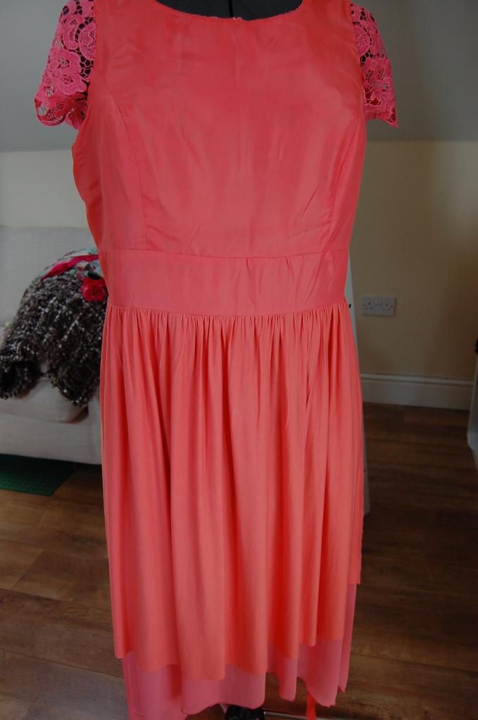 Vogue 8998 + McCalls 6987 DIY Ball Dress - lining