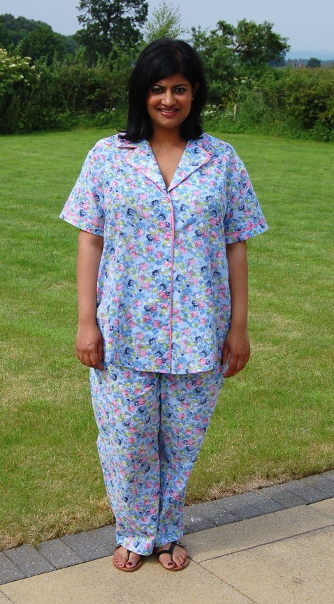 Simplicity 2317: DIY Summer Pyjamas