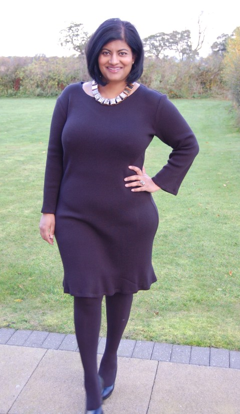 McCalls 6886: DIY Sweater Knit Dress