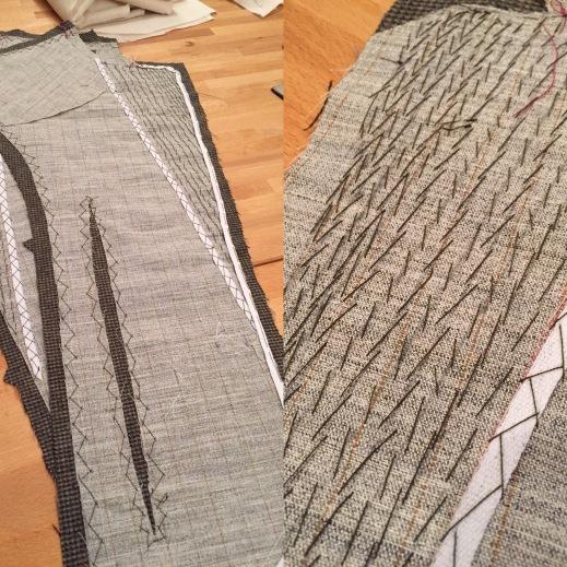 Butterick 4610 hand tailored wool blazer