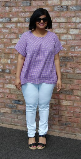 Love Sewing Magazine Bexley Smock Top by In The Folds