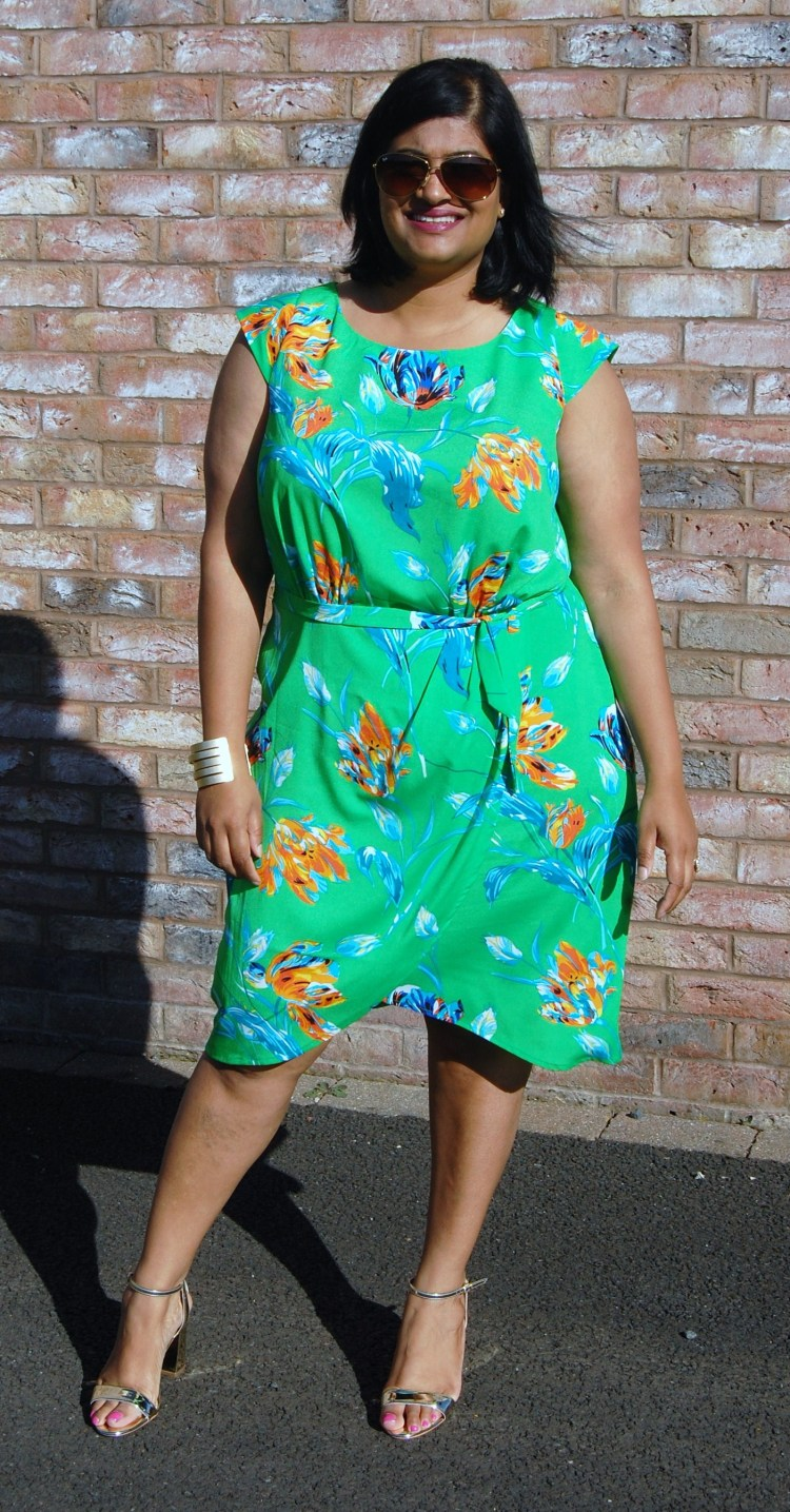 7dcb659bcd16 This dress was born out of Instagram  I saw the fabric on Fabricgodmother s  feed