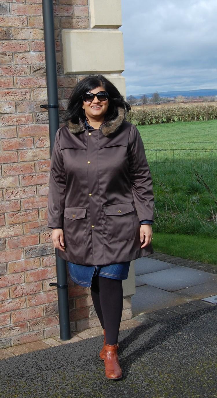 Grainline Cascade Duffle Coat Diy Waterproof Hooded Coat