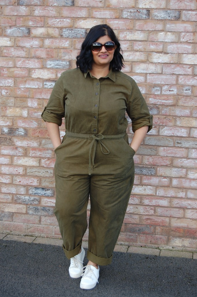 Simplicity 8060 khaki green boiler suit